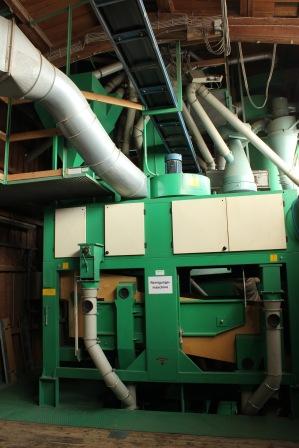 Saatgut-Aufreinigungsmaschine